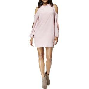 Kensie Stretch Suede Cold Shoulder Dress Size M